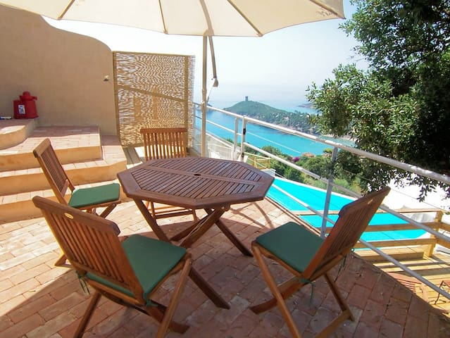 CAROLE F2-POOL-SEA VIEW - SAINTE-LUCIE DE PORTO-VECCHIO - Apartment
