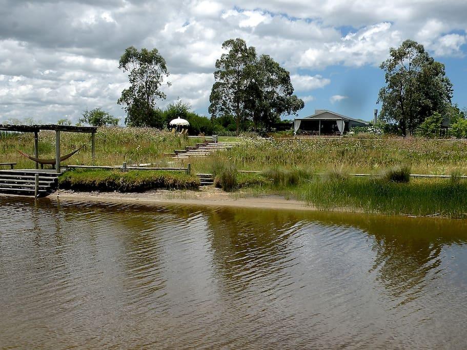 Vista desde el Arroyo Magdalena