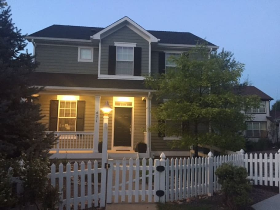 Private home in a quiet family friendly safe neighborhood.  15 minutes from Boulder.