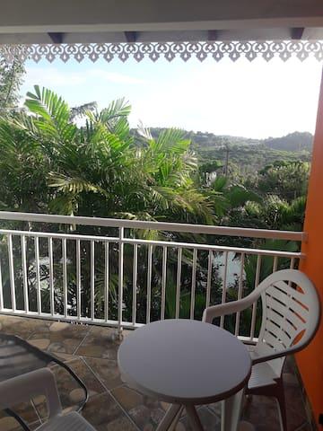 Autre vue de la terrasse pour les moments de détente et les apéros