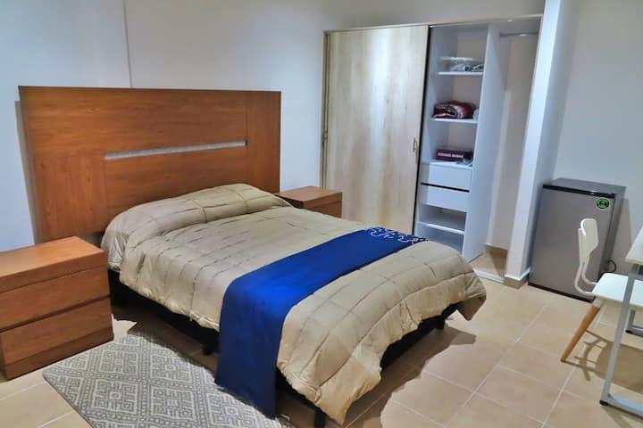 """Rento Suite """"Byblos"""" en Col. San Rafael"""
