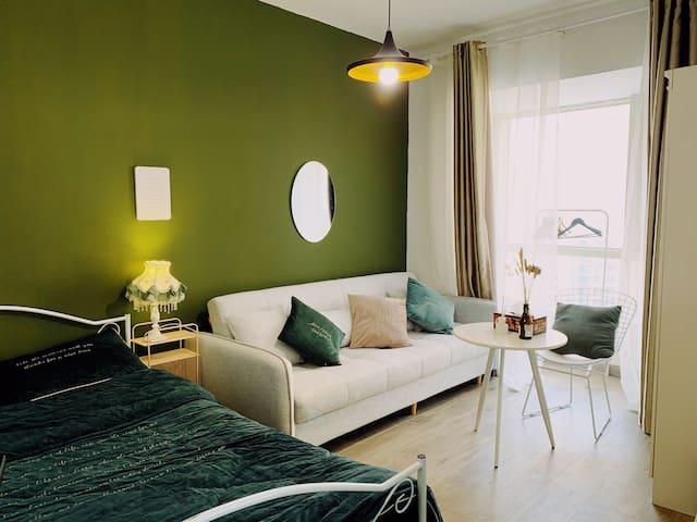 卧室A 沙发可做沙发床