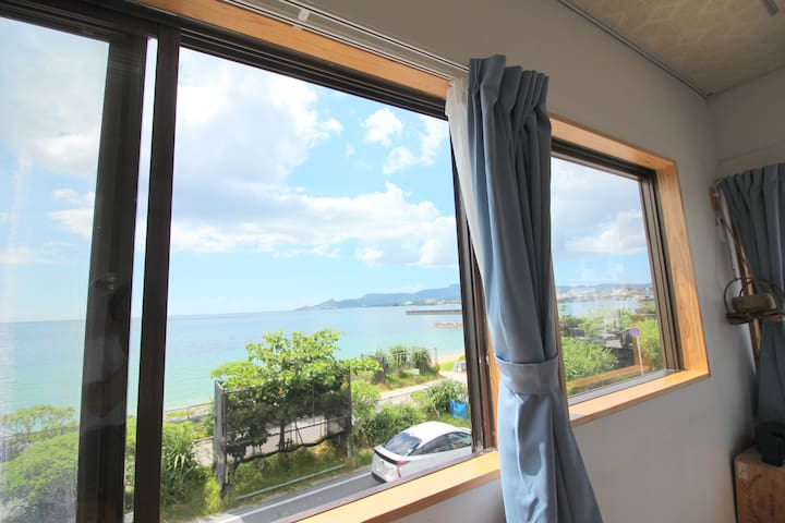 Great Sunset View * 3 Bed rooms * Beach 10 sec#J29