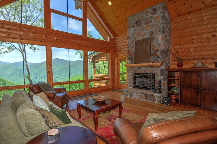 Positive View in Gated Smoky Mountain Retreat Comm