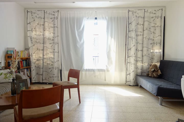 Sunny Big 25 sq.m Room in Central Ramat Gan - Ramat Gan - Appartement