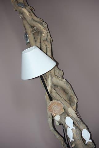 décoration de bois flotté