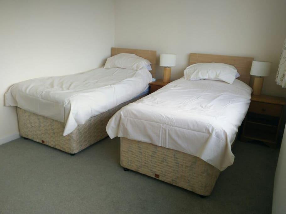 Lovely big second bedroom