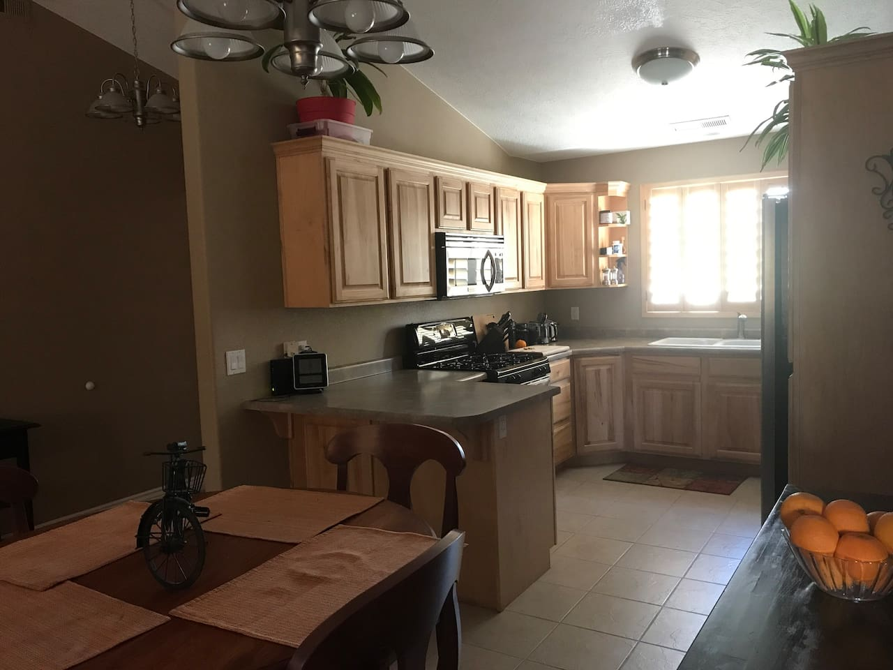 This is the Kitchen available for your use.