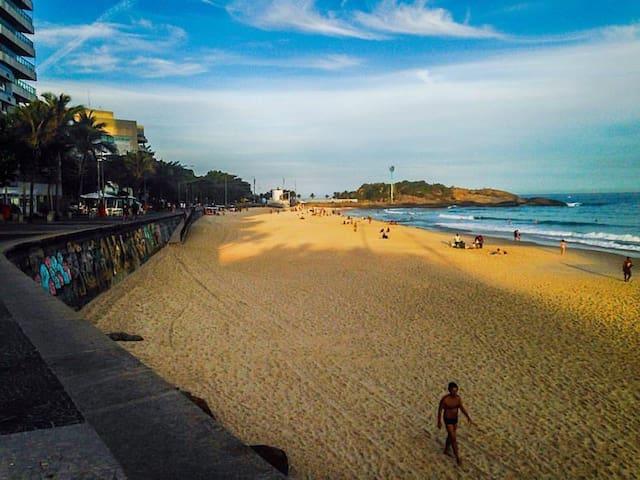 Praias Zona Sul com charme. Copa/Ipan/Arpoador - Rio de Janeiro - Daire