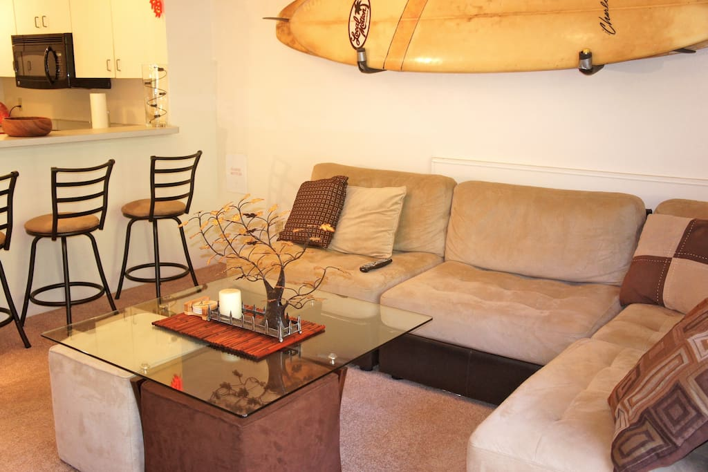 Totally comfy living room!