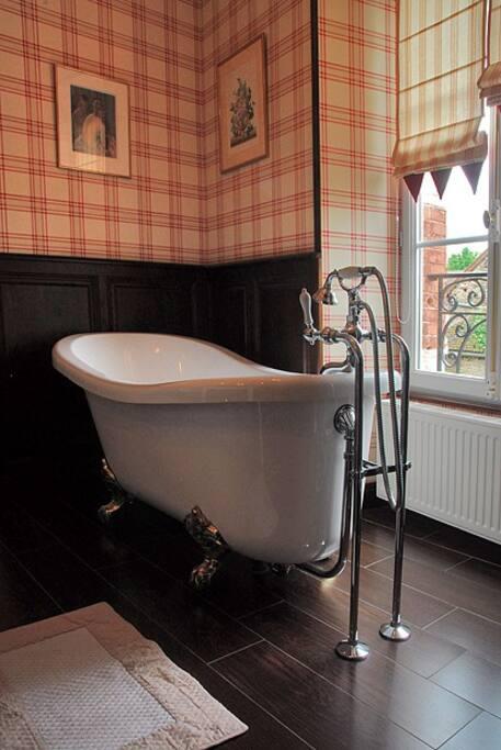 le plaisir d'un bain ou d'une douche