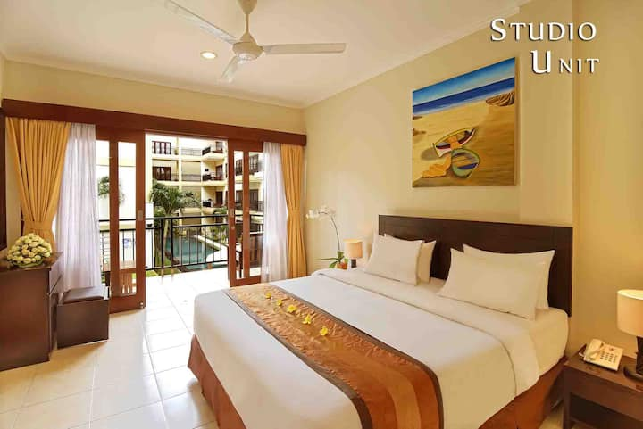 COZY STUDIO UNIT @HEART OF KUTA