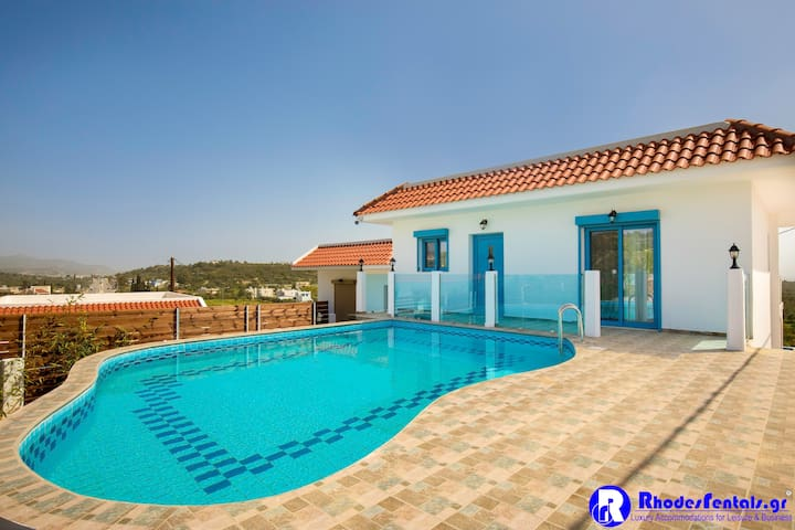 Kolymbia Dreams luxury apartment 202 Private Pool