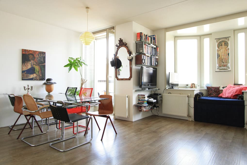 Very comfortable and bright flat appartamenti in for Appartamenti in centro amsterdam