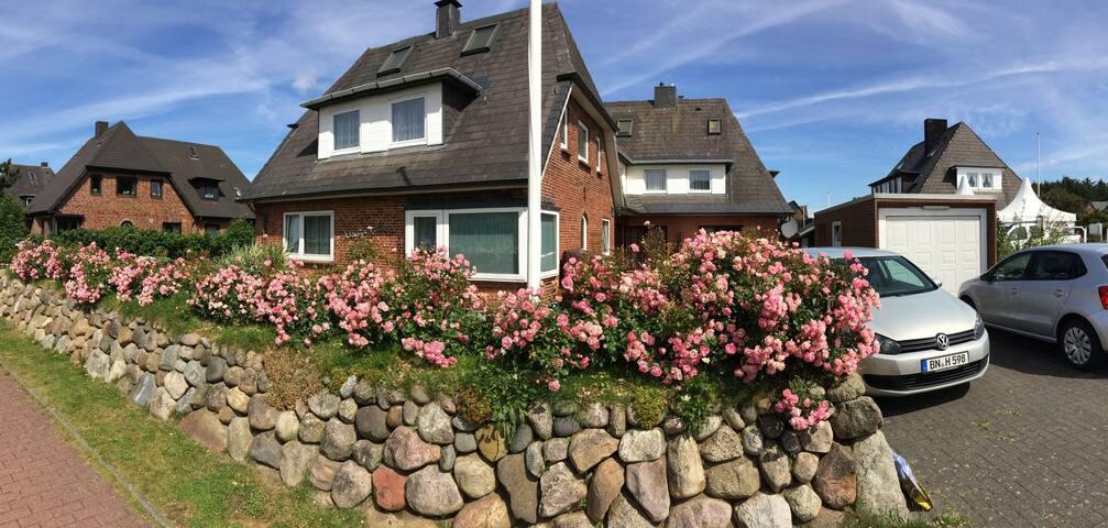 Ferienwohnung 1 in Wenningstedt - Wenningstedt-Braderup - Huoneisto