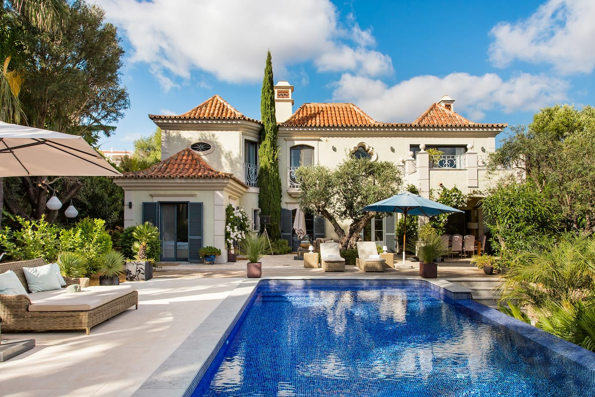 Visit the Beach from a Palatial Villa with an Infinity Pool