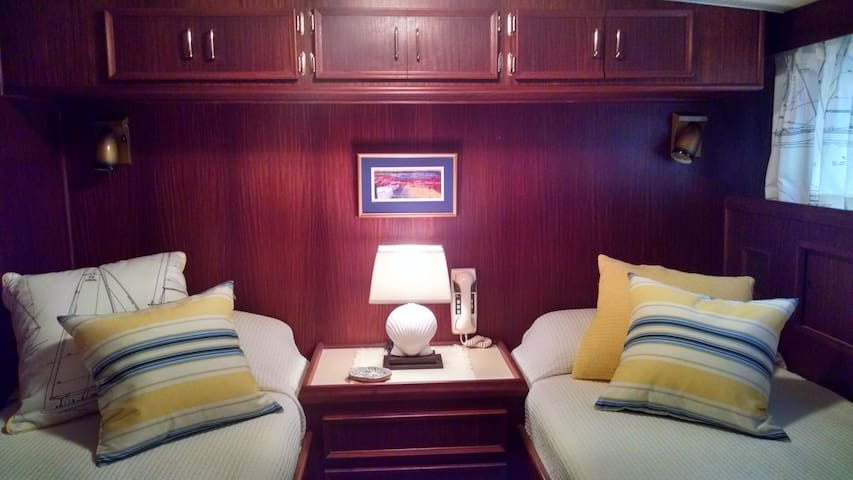 Yacht Stateroom for Two - New Castle