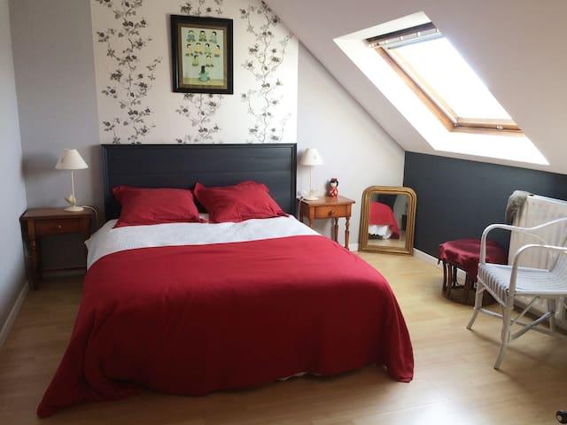 Jolie chambre proche de Dinan - Trélivan - Lägenhet
