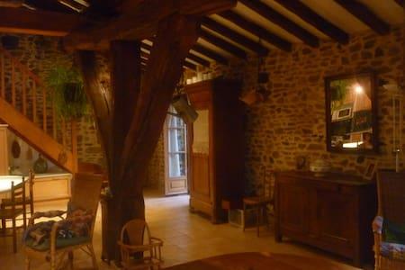 Monts du Lyonnais grange aménagée - Saint-Genis-l'Argentière - Rumah