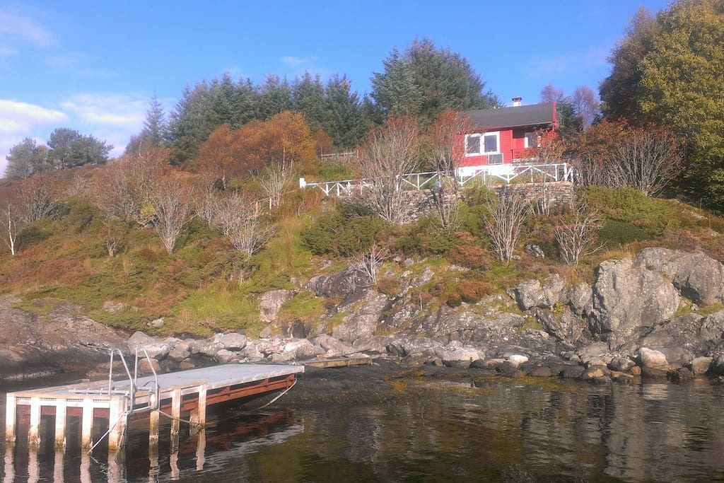 Mangersnes panorama chalet in affitto a rad y hordaland for Cabina di brezza autunnale gatlinburg
