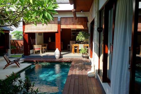Lovely villa near beach with pool!