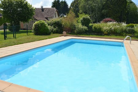 Chalet Toit Rouge - Cottage in Dordogne + Pool - Payzac