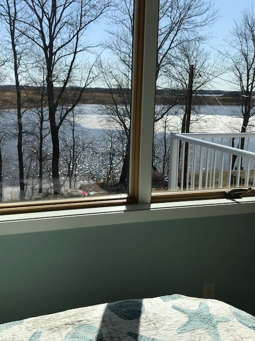 View from master bedroom.