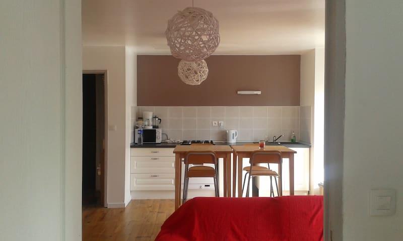 appartement ensoleillé - Saint-Christoly-de-Blaye - Lägenhet