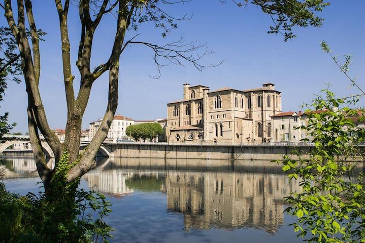 Petit studio en centre-ville - Bourg-de-Péage