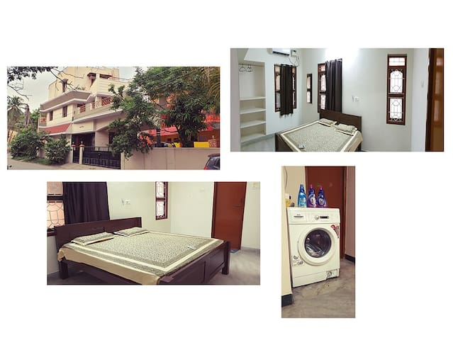 Fully Furnished A/C Room available @Velachery - A