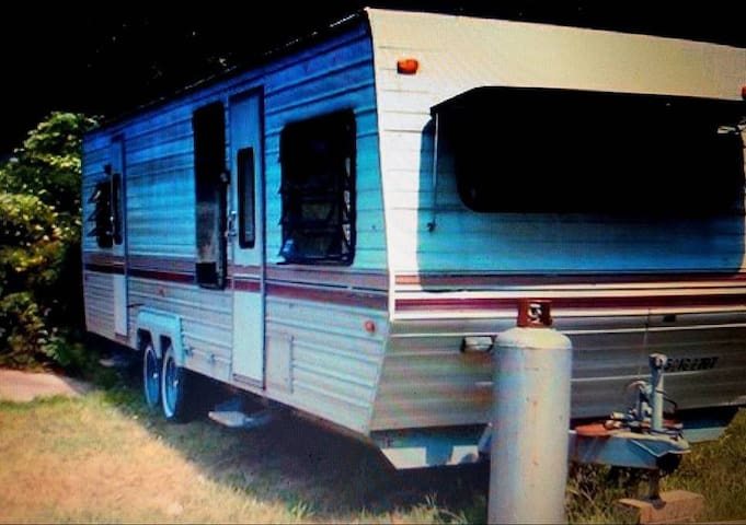 Peculiar Trailer Camp.Get the camping experience.