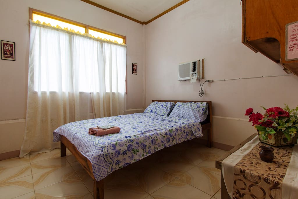 The First room of the house with aircon