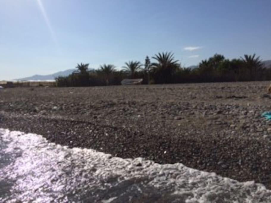 Caba a junto al mar caba as en alquiler en adra - Cabanas cerca de madrid ...