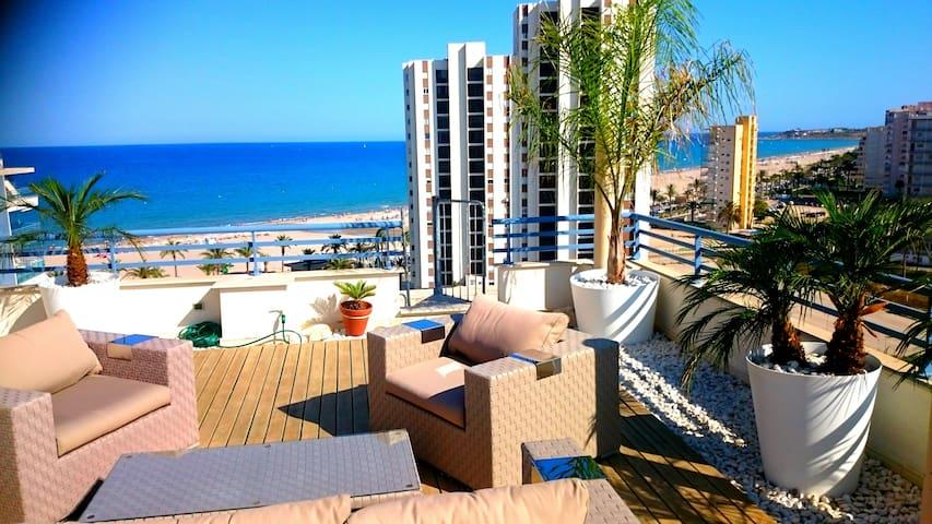 Luxury Penthouse on the Beach, San Juan Beach