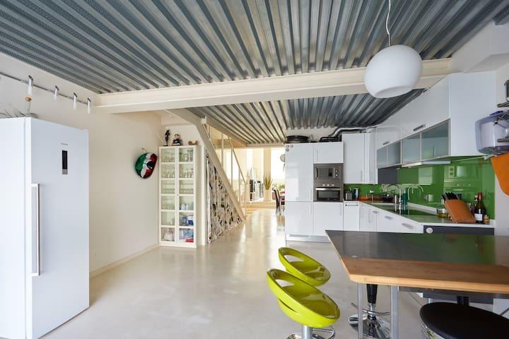 Duplex loft San Fermin Pamplona - Ansoáin - Çatı Katı