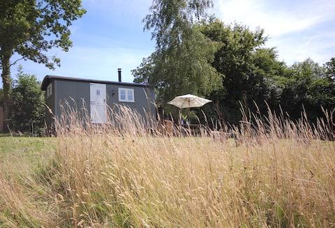 Luxury Shepherd's Hut with En Suite