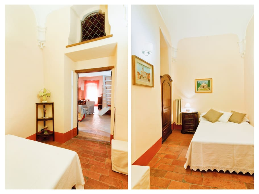 Cortona, Central Apartment for 2-5