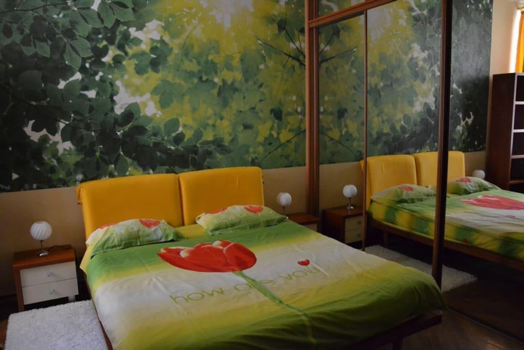 Спальня 2 Большая ортопедическая кровать