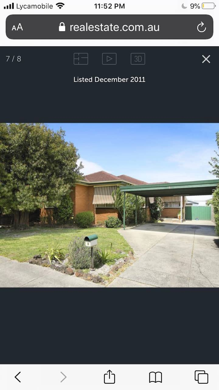 Private rooms in central keysborough