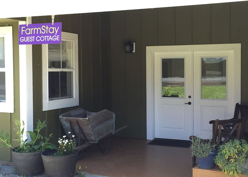 Entryway to Cottage