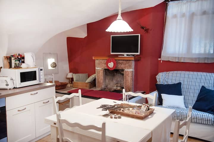 apartment in the historic village nature and relax