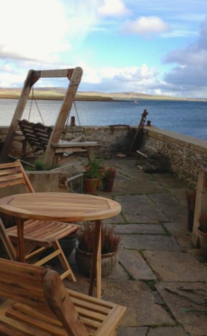 View from 4 South End, Anderson Harbour Cottages, Stromness, Orkney, Scotland