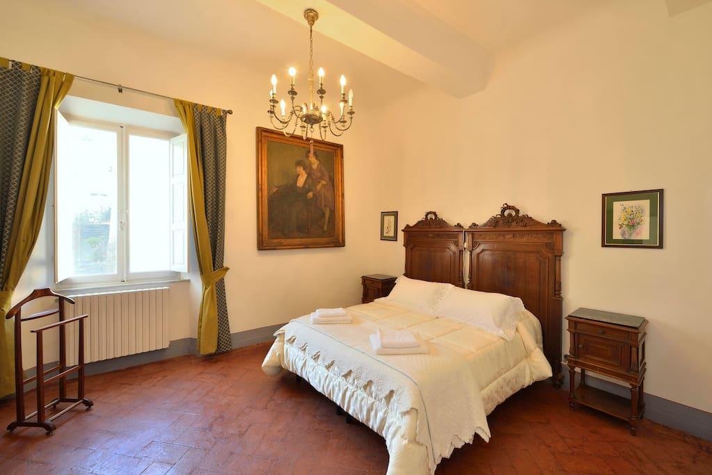 Palazzo Tombesi Trecci - First floor apartment bedroom 1