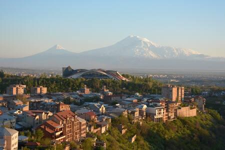 Studio apartment luxury condo - Yerevan