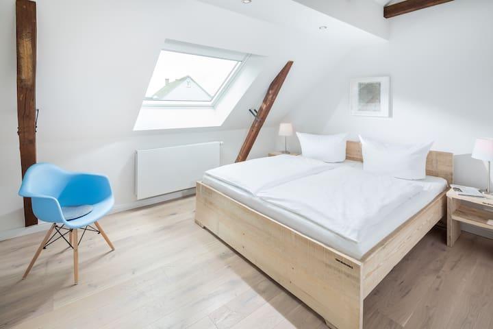 LOFT E Strandloft Zwei Norderney - Schlafzimmer eins