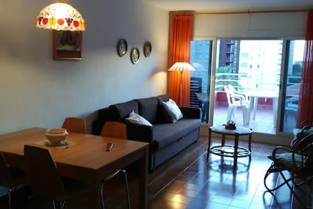 Top-floor flat. 25 min train to downtown Barcelona - Vilassar de Mar