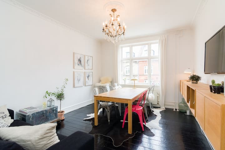 Coziness in the heart of the city! 2 FREE bikes - København - Apartment
