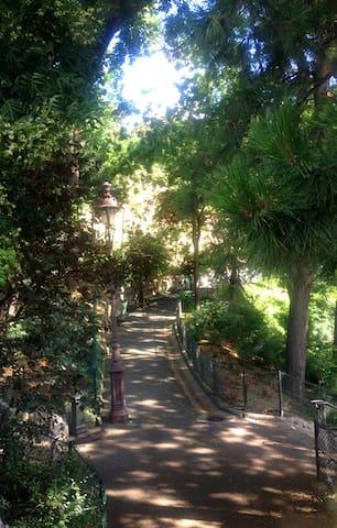 Les jardins du Sacré Coeur