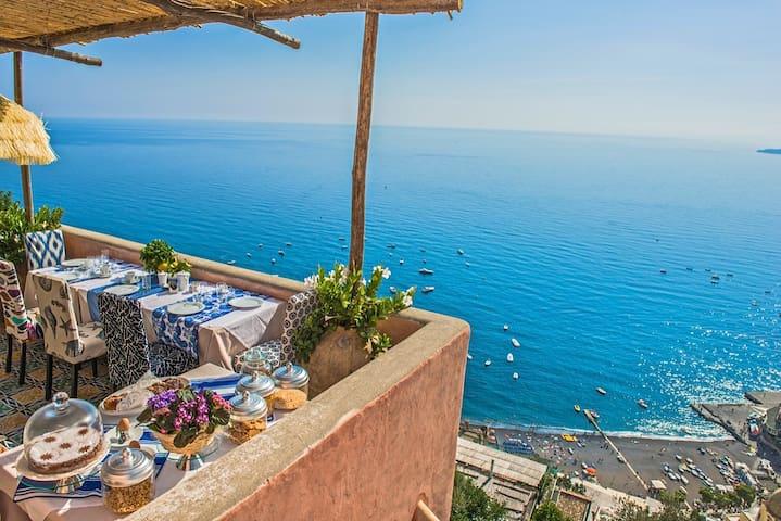 Luxury and History live in Positano - Позитано - Вилла