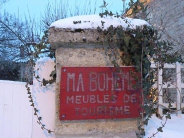 Le Duplex de Ma Bohème - CIVRAC DE BLAYE - Pension